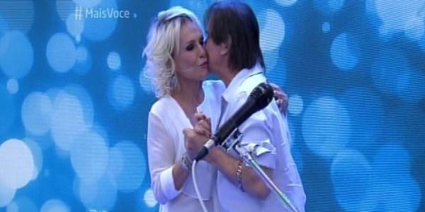 Ana Maria Braga conta que foi apaixonada por Roberto Carlos na adolescência