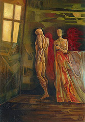 Angolo, olio su tavola, 35×50, 2005