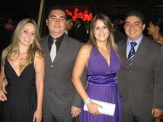 Fernanda e Rodrigo Rezende, Carol e Diego Rezende