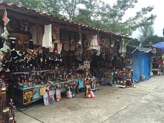 Shop outside El Tajín.