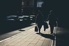 Sunrise shoppers