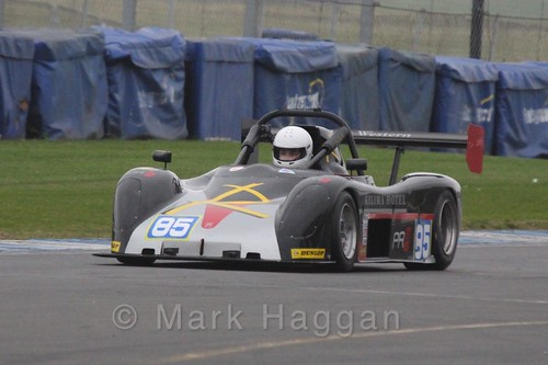 Joe Stables in the Excool OSS Championship at Donington Park, October 2015