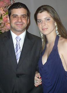 Luciana Teixeira e Érisson Perdigão