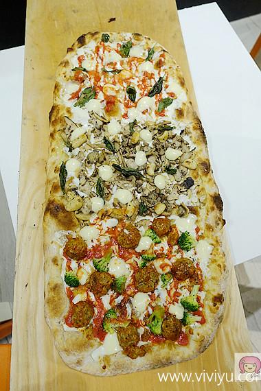 PiZZAHOOD披薩樹,京站,台北,台北火車站,披薩樹,美食 @VIVIYU小世界