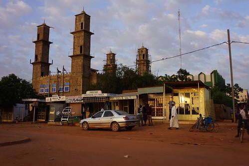 Burkina Faso : Ouagadougou - Mosquée