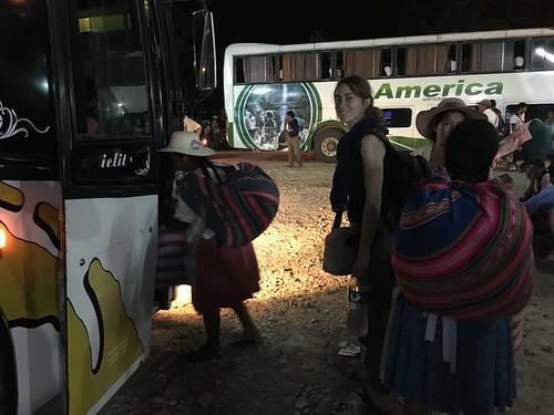 Après ce beau week end, nous sommes retournés à Cochabamba !