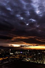 A darker sunset