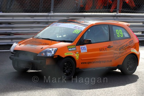 Alexander Tait in the Fiesta Junior Championship, Brands Hatch, 2015