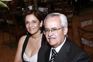 Marcy e o diretor financeiro da Consul, Divaldo Guerra