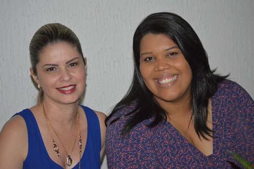 Patrícia e Yasmine