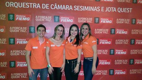 Nicolas Mateus, Aline Alves Ferreira Mendonça, Damille Barros e Jane Neves