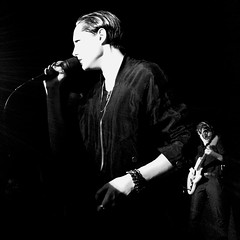 """Savages - 2015 NYC Residency, Mercury Lounge, New York City, NY 1-21-15 • <a style=""""font-size:0.8em;"""" href=""""http://www.flickr.com/photos/79463948@N07/23270426330/"""" target=""""_blank"""">View on Flickr</a>"""