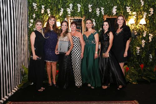 Camila Araújo, Vânia Dias, Flávia, Márcia Miranda, Maria Angélica, Graziele Domingos e Ivna Dias