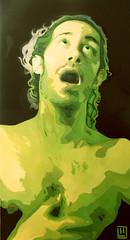 Il tempo della morte (2), olio su tela, 50×100, 2011