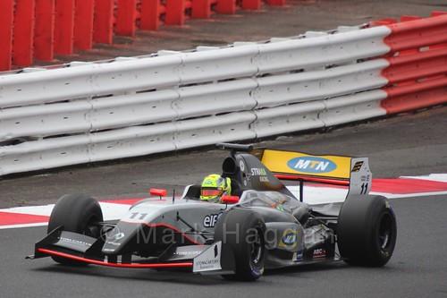 Tio Ellinas in Saturday's WSR 3.5 Race at Silverstone