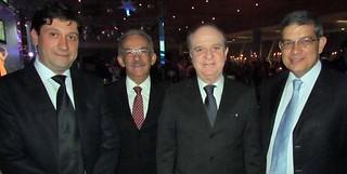 Luís Márcio, Eduardo Lery, Wilson Brumer e Marcus Pestana