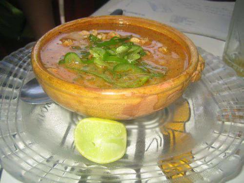 Une autre soupe, également avec des pâtes.