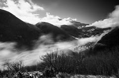 Nubi nella valle