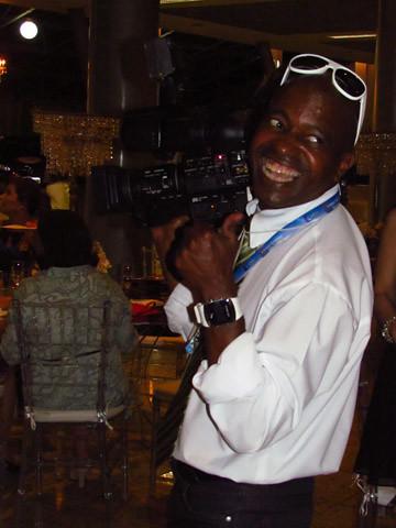 O super cinegrafista da TV Cultura, Wilson Fumaça