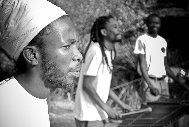 marimba band from Soweto