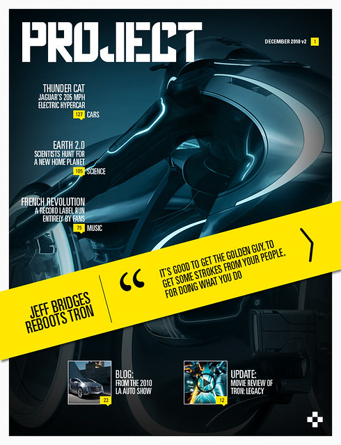 Project Magazine Design Competition Entry