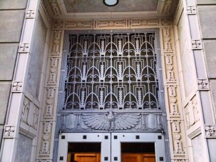 Doorway, Trenton federal courthouse