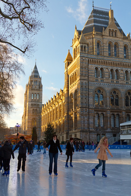 Ice Skaters, Natural History Museum