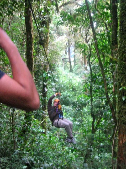 Zip line tour in Boquete, Panama