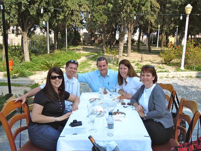 Jen, Gary, Vasileioi, me and Angie
