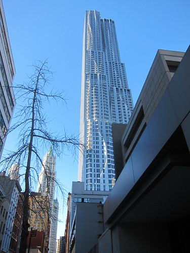 8 Spruce St. by Gehry, NYC. Nueva York