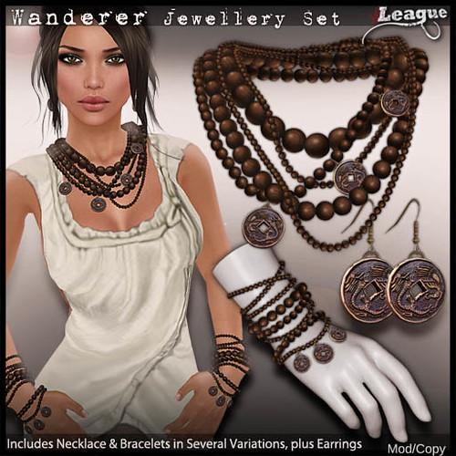 *League* Wanderer Jewellery Set