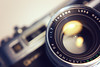 Yashica Electro 35, Lens close-up by dareppi