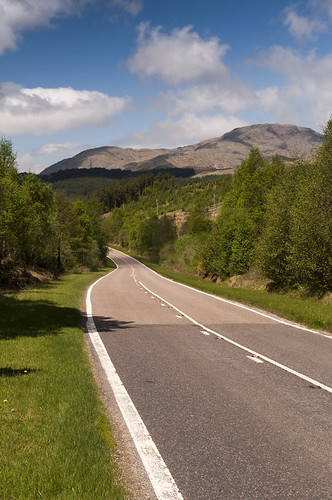 road to Mallaig