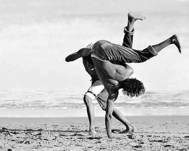 Struggling dancers