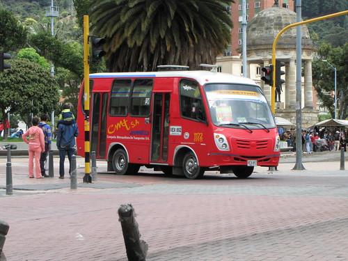 Onibus Bogotá - Colombia