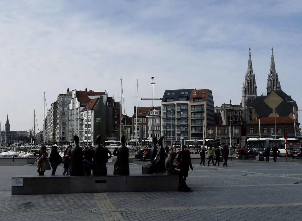 Ostend: Getting out of the train station