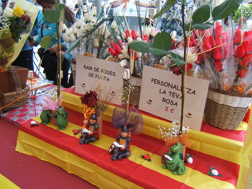 Diada de Sant Jordi by Francesc_2000, on Flickr
