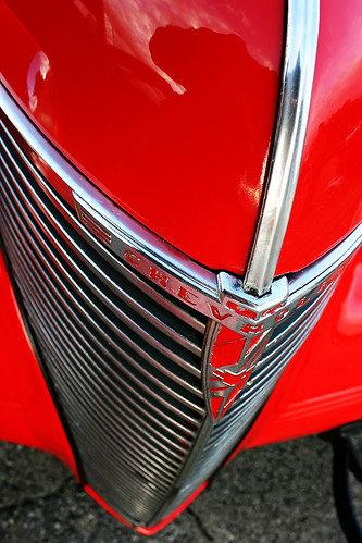 Vintage Chevy grille photo copyright Jen Baker/Liberty Images; all rights reserved, though pinning is okay.