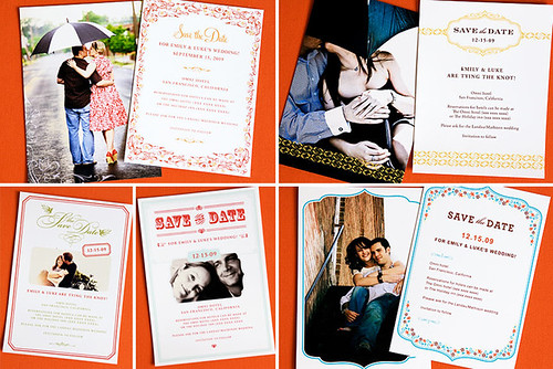 Fun & Flirty Save the Date Card Collection