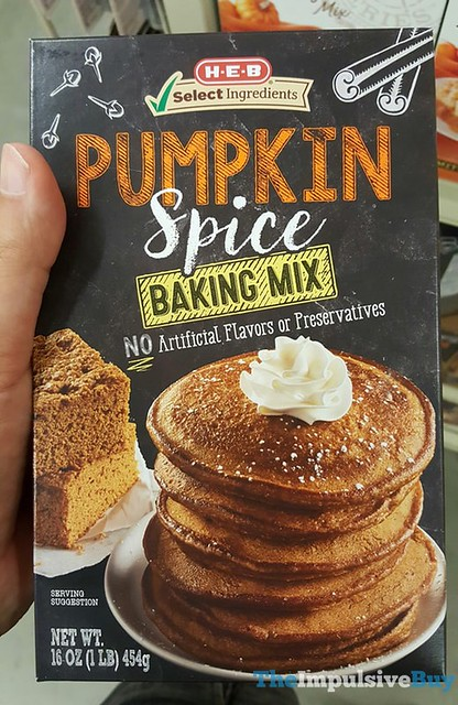 H-E-B Pumpkin Spice Baking Mix