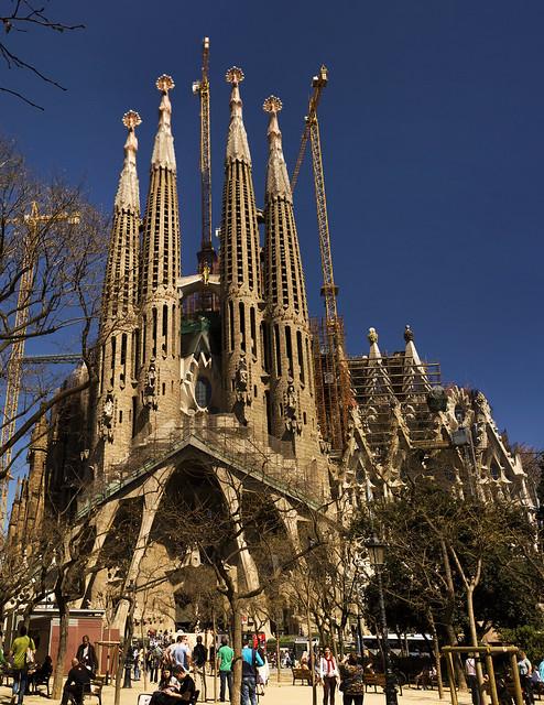 La Sagrada Familia 2011