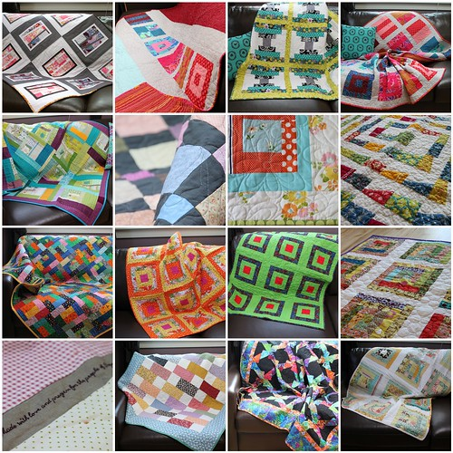 Quilts for Quake Survivors - Japan Shipment