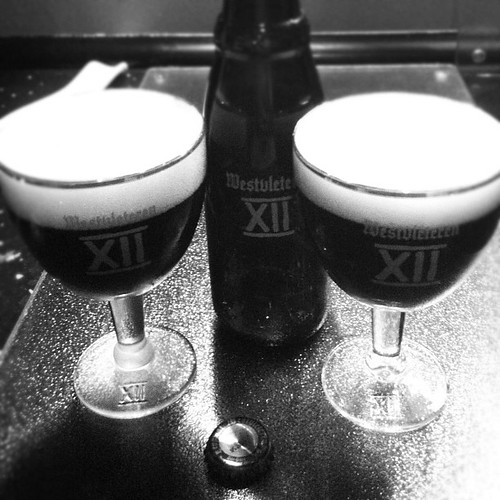 "Not bad at all, this ""best beer in the world according the experts"" beer :-)... #beer #beerporn #westvleteren"