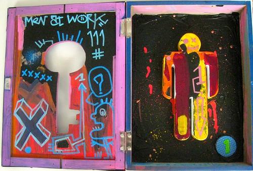 Men at work Box #1 by Pegasus & Co