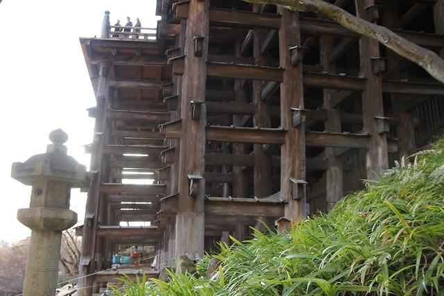 清水舞台結構體