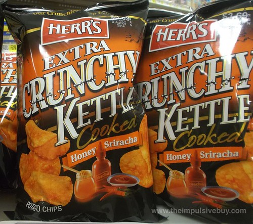 Herr's Extra Crunchy Kettle Cooked Honey Siracha