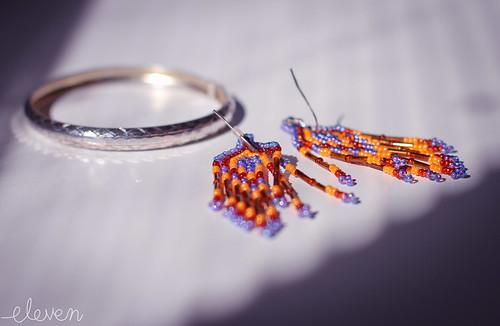 Earrings and Bracelet by Eleven~ hey hey heyy