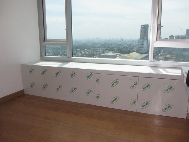 Window and ledge