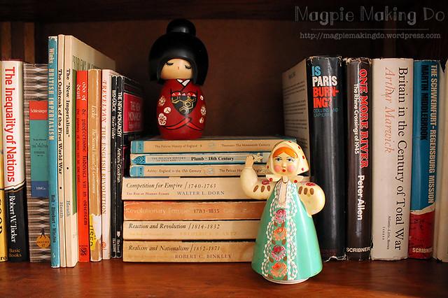 Favorite Bookcase Decorations