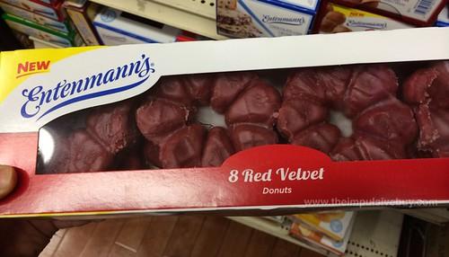 Entenmann's Red Velvet Donuts